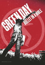 """GREEN DAY FLAGGE / FAHNE """"BULLET IN A BIBLE"""" POSTER FLA"""