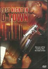 LAST NIGHT IN D TOWN - BRAND NEW DVD - FREE UK POST