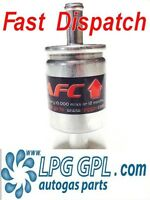 LPG GPL autogas filter 12x16mm fits most systems 2 micron filtration propane glp