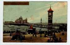 (Lb1261-180) The Clock Tower, MORECAMBE 1912 Used VG