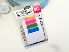 100 pcs 4 Colours Index sticky memo notes Marker bookmark Tags School Office