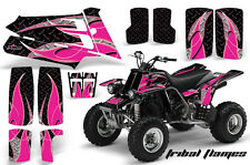 AMR Racing Yamaha Banshee 350 Decal Graphic Kit ATV Quad Wrap  87-05 TRIBAL PINK