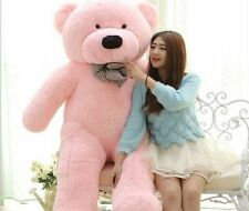 Big jumbo giant 6 feet pink teddy bear soft toy, love,birthday gift