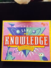 The Game of Knowledge All Present From University Games 1995