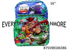 "TOY STORY Large School Backpack 16"" 6386"