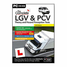 Complete LGV HGV PCV Theory and Hazard Perception Test PC DVD ROM 2016