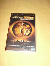 UNIVERSAL SOLDIER LE COMBAT ABSOLU (Universal Soldier: The Return) VHS Van Damme