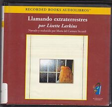 Llamando Extraterrestres by Lisette Larkins (2005, CD) Texto Completo Nonficcion