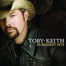 TOBY KEITH 35 BIGGEST HITS 2 CD SET (Greatest Hits / Very Best Of)