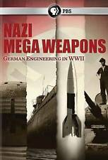 NAZI MEGA WEAPONS German Engineering In WWII *PBS FACTORY SEALED NEW 2 DVDS*