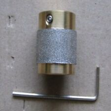"1"" STAINED GLASS GRINDER BIT HEAD 4 INLAND OR GLASTAR TOP QUALITY BRASS!"