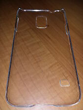 Lot of 4 Clear Hard Back Cases  For Samsung Galaxy S5 i9600