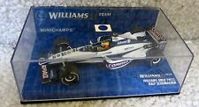 2001 RALF SCHUMACHER 1/43 MINICHAMPS PAULS MODEL ART #9 WILLIAMS BMW FW22
