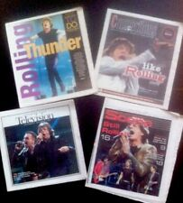 Rolling Stones LOT OF 4  Magazine Newspaper Pullout COVERS from NEw  JERSEY Rare