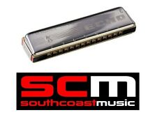 BRAND NEW HOHNER ECHO G HARMONICA HARP 14 DOUBLE HOLE 28 REED 2209/28