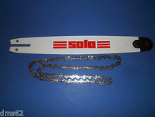 """NEW SOLO 16"""" BAR & CHAIN COMBO  3/8 050 59 LINK  6900272X OEM"""