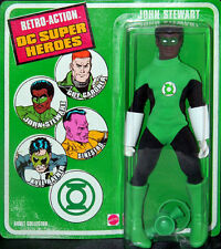 "Damaged Package Retro Action DC Super Heroes 8"" JOHN STEWART Figure GreenLantern"