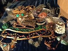 Vintage HUGE Lot Costume Jewelry. Necklaces, Bracelets, rings, & more