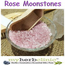 CELESTIAL MOONSTONES ROSE QUARTZ INSPIRED THERAPEUTIC GRADE NATURAL BATH SALTS