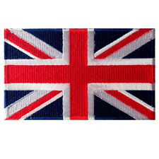 GREAT BRITAIN FLAG BRITISH UNION JACK UNITED KINGDOM EMBROIDERED PATCH VELCRO®