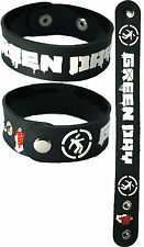 GREEN DAY  NEW! Bracelet Wristband aa158 White font/American Idiot
