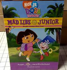 Mad Libs Nick Jr. DORA the EXPLORER Junior Word Game Paperback Activity Books
