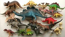 20 TOY DINOSAUR FIGURE MIXED JOB LOT BUNDLE TRICERATOPS PTERANODON STEGOSAURUS