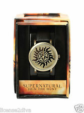 SUPERNATURAL ANTI-POSSESSION WATCH! SAM & DEAN FAVORITE! NEW! FREE SHIP!
