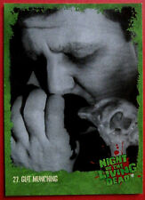 NIGHT OF THE LIVING DEAD - 1968 film - Card #27 - Gut Munching - Unstoppable