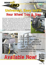 Roadsafe 4wd Rear Wheel Tray & Step - Universal easy to fit - 4x4