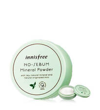 Innisfree No Sebum Mineral Loose Powder - 5g Oil Control Skin Tone Makeup Fixer