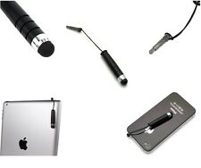 BLACK SMALL BULLET STYLUS PEN FOR IPHONE 5, 4, 4S, SAMSUNG S2, S3, S3 MINI, Z10