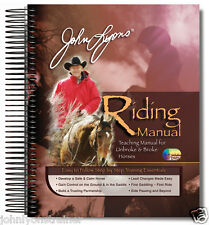Riding Manual: horse training book w/ 4 DVDs for sale by Cert John Lyons Trainer