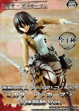 Mikasa Ackerman Figure Maneuver Gear Ver. Attack on Titan, Shingeki no Kyojin