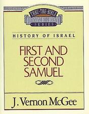NEW - 1 and   2 Samuel (Thru the Bible) by McGee, J. Vernon