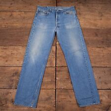 Men's Vintage 90s Levis USA Made Red Tab 501 Denim Jeans Blue Size 36 X 34 R3754