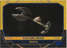 STAR WARS GALACTIC FILES SERIES 1 BLUE PARALLEL #247 VULTURE DROID 185/350