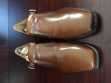 Vintage Johnston & Murphy Buckle Shoes New Old Stock Minor Storage Marks 10 E/C