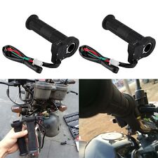 22mm Motorcycle ATV Electric Heated Molded Grips Warmer Handle Handlebar 5Y