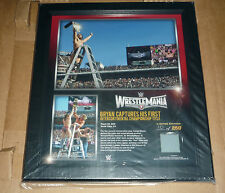 WWE PLAQUE WRESTLEMANIA 31 DANIEL BRYAN #10 ONLY 250 IN THE WORLD RARE