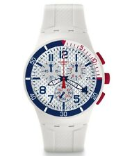 "SWATCH CHRONO PLASTIC ""SPEED UP"" (SUSM401) NEUWARE"