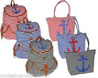 Strandtasche Rucksack Tasche Urlaubstasche Damentasche Damenrucksack maritim