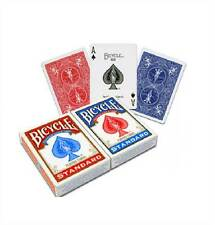 2 NEW DECKS OF BICYCLE CLASSIC PLAYING CARDS RED BLUE