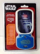 Disney Star Wars R2D2 Glowlight USB Charger - NEW