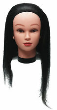 """Professional Styling Manikin Head 16"""" Female Cosmetology Mannequin Hair Cutting"""