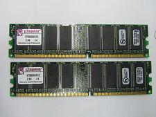 Kingston 1GB (2x512MB) DDR PC3200 Low Density Desktop Memory