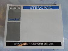 Steroplast Premier Secours Steropad Habillement 7.5cm x 7.5cm Boîte de 25