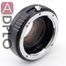 Focal Reducer Speed Booster Adapter Nikon G Lens to Micro 4/3 M4/3 GH4 GF7 GX7