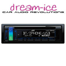JVC KD-R881BT CD, USB, IPHONE, ANDROID, BLUETOOTH, AUX, FLAC, A2DP, 2 x PREOUTS