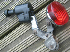 SOUBITEZ BLACK DYNAMO & RED BACK LIGHT MADE IN WEST GERMANY FOR VINTAGE BIKE